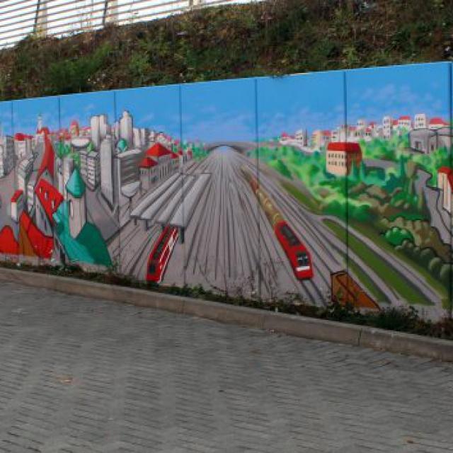 augsburg louzeh lou zeh graffiti ibis budget big mural