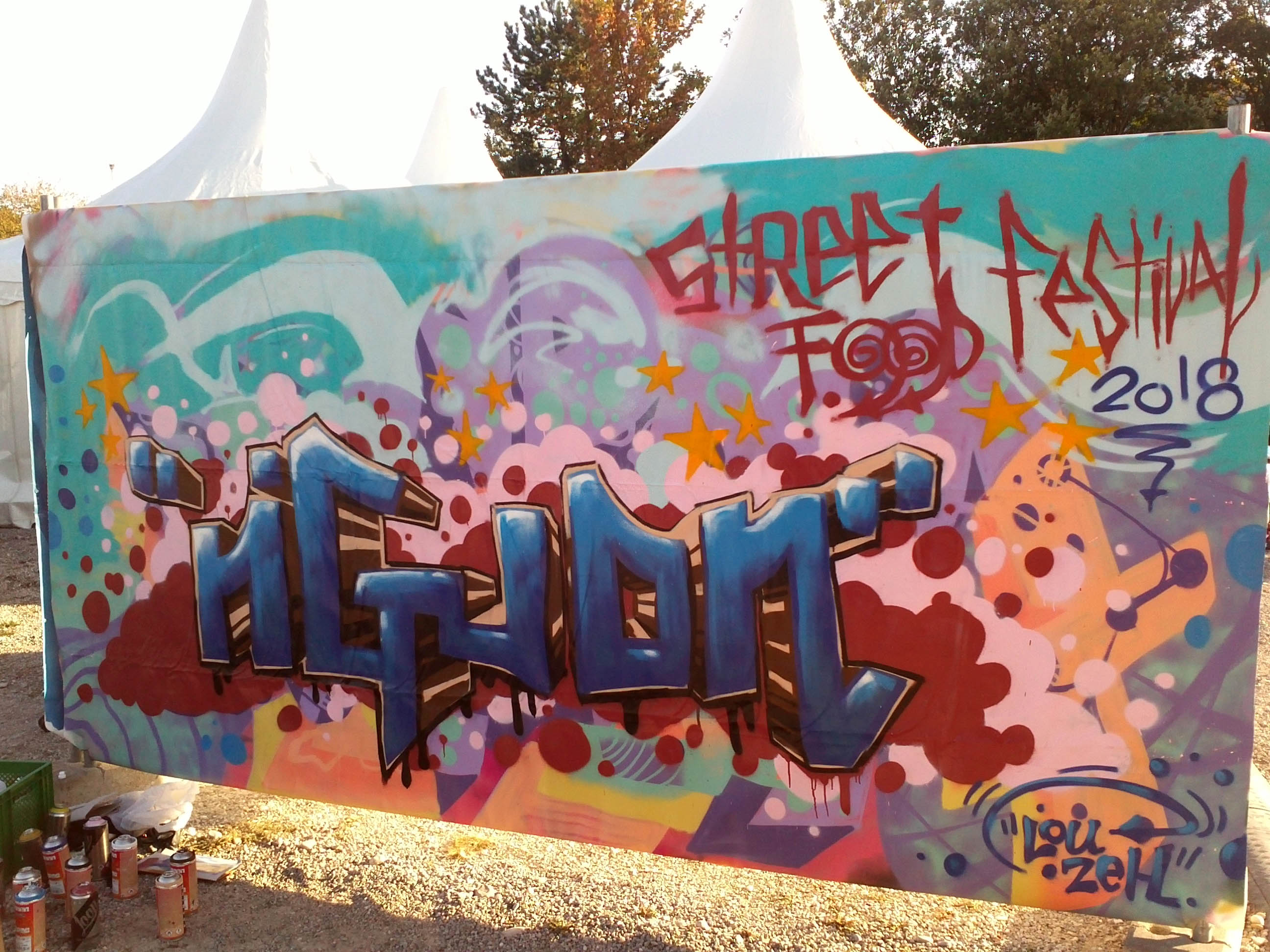 ngudn louzeh lou zeh graffiti