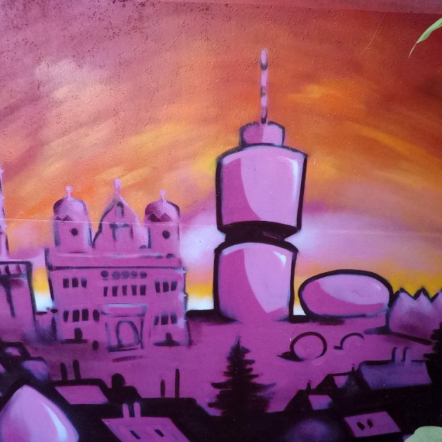 augsburg graffiti louzeh lou zeh hotelturm rathaus perlach perlachturm fca