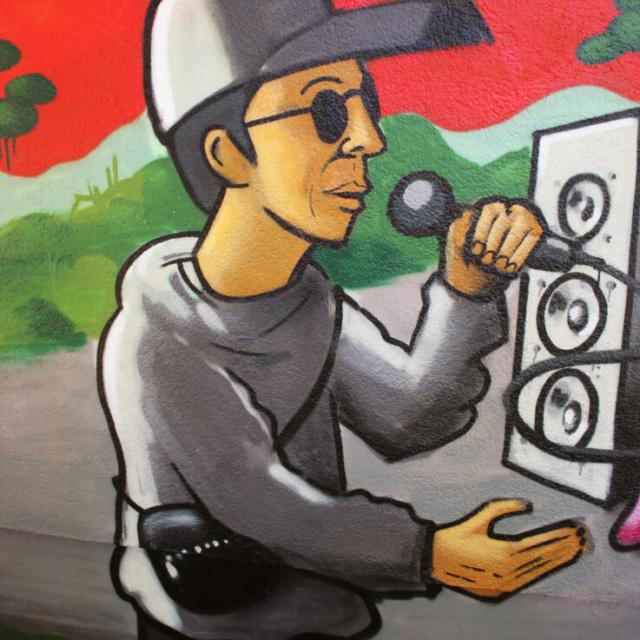 rapper character hiphop speaker jungle louzeh lou zeh