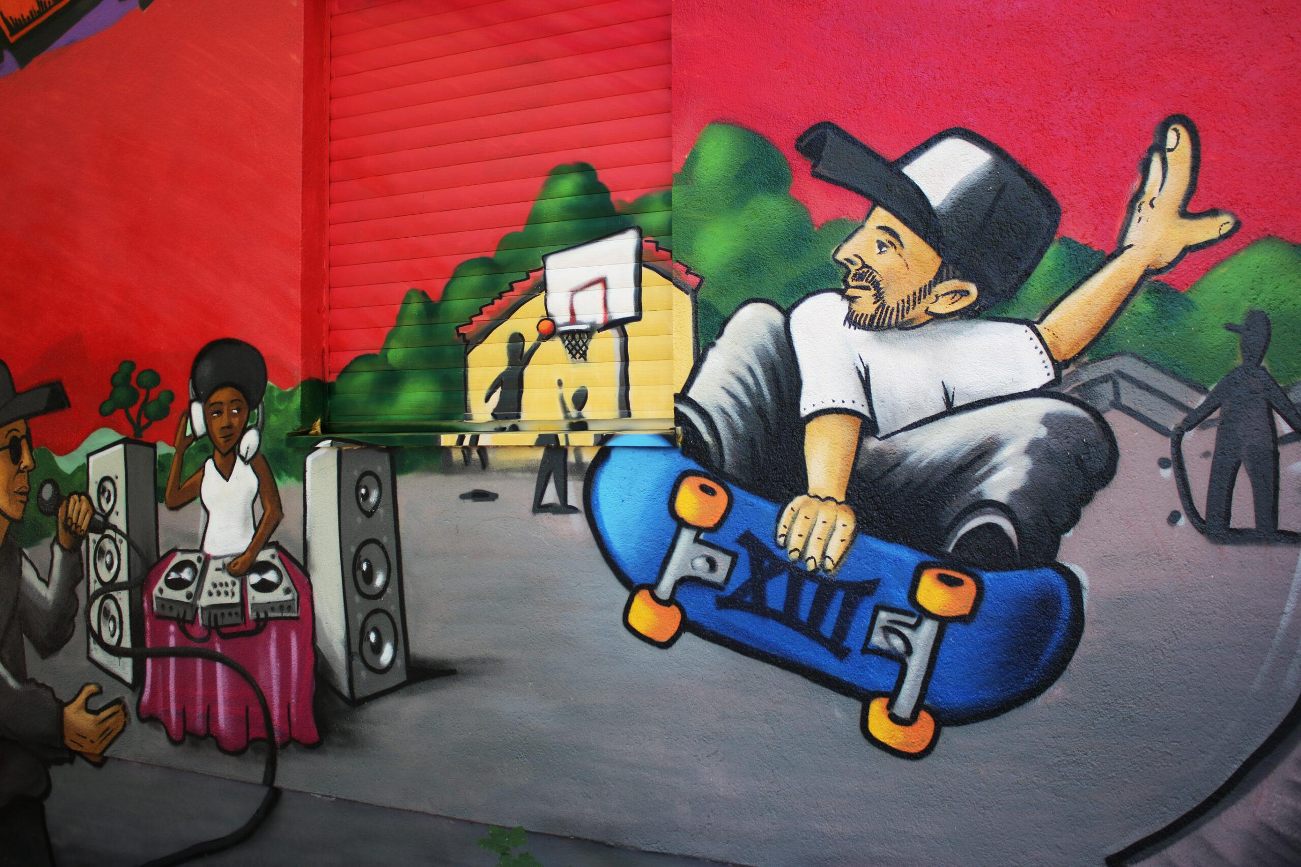 graffiti character skater djane dj basketball cap louzeh lou zeh